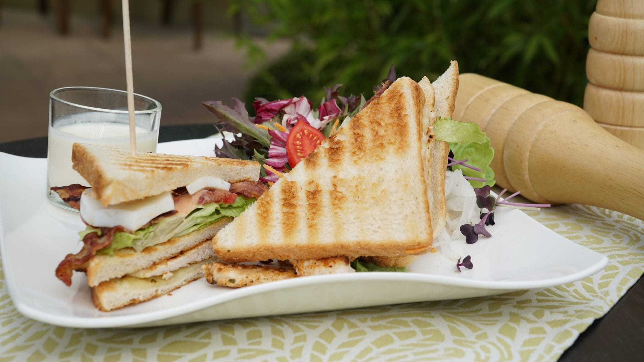 Clubsandwich in der THERME - Bar, Bistro und Restaurant