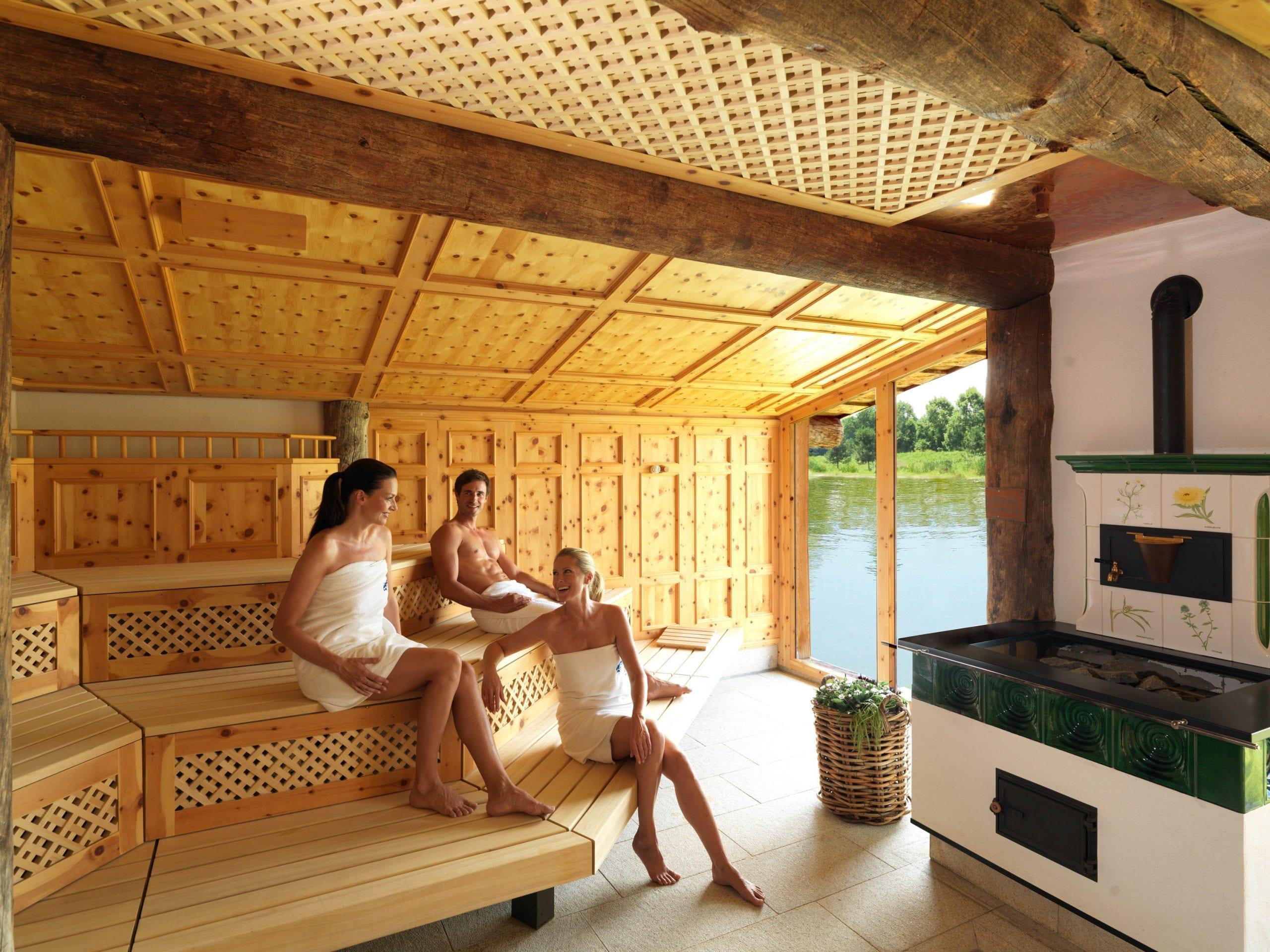 Kräuter Sauna in der THERME